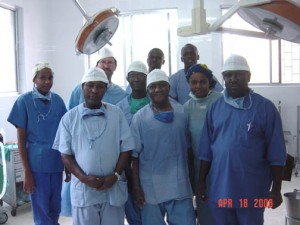 Machame Lutheran Hospital Orthopedic Surgery Team - April 2008